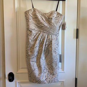 Brand new strapless formal dress